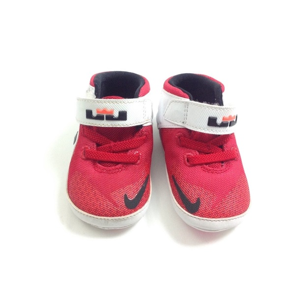 84e2900ee0f ... nike shoes lebron james the twelve baby infant red poshmark ...